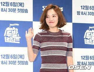 女優ファン・ボラ、SBS Plus「2足ライフ」制作発表会に出席。
