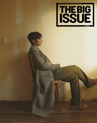 ロイ・キム、画報公開。THE BIG ISSUE。