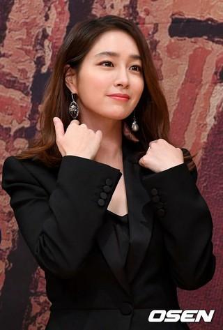女優イ・ミンジョン、SBS新週末特別企画「運命と怒り」制作発表会に出席。30日午後、ソウル・木洞SBS。
