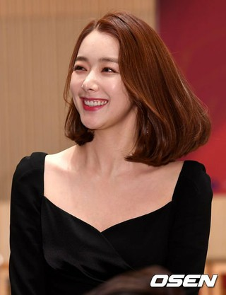 女優ソ・イヒョン、SBS新週末特別企画「運命と怒り」制作発表会に出席。30日午後、ソウル・木洞SBS。