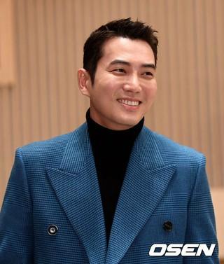 俳優チュ・サンウク、SBS新週末特別企画「運命と怒り」制作発表会に出席。30日午後、ソウル・木洞SBS。