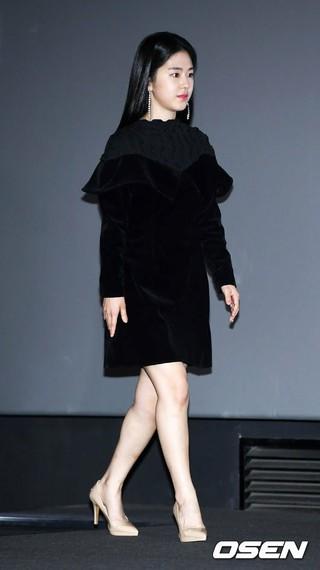 女優パク・ヘス、映画「Swing Kids」メディア試写会に出席。4日午後、ソウル・CGV龍山アイパークモールにて。