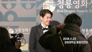 【動画】【w公式】俳優キム・ヨングァン 、「第39回青龍映画賞」ビハインド映像公開。