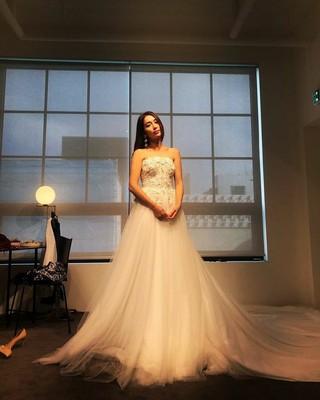 【g公式】女優イ・ミンジョン、SNS更新。ウエディングドレス姿を公開。「ドラマフィッティング.....スポイラーはありません.....結婚.....ではないでしょ 運命と怒り