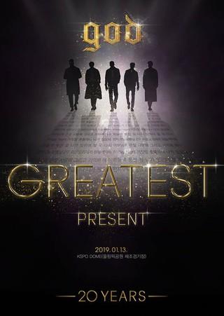 20周年のgod、デビュー日である1月13日にコンサート「god GREATEST 20th Anniversary &#39&#59;PRESENT&#39&#59;」を開催。