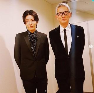 俳優ノ・ミヌ、日本の俳優・松重豊さんとの写真を公開。「It was great night」。2人は12日開催の「2018 MAMA FANS'CHOICE in JAPAN」授賞