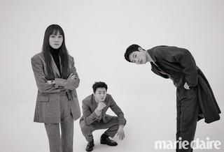 俳優リュ・ジュンヨル - チョ・ジョンソク - コン・ヒョジン、画報公開。marie claire。