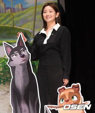 女優パク・ソダム、アニメーション映画「アンダードッグ」制作報告会に出席。