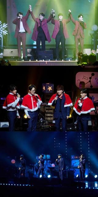 男性ボーカルグループ ノウル、全国ツアー・ソウル公演を成功裏に終了。
