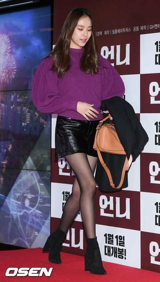 女優チョ・ユンヒ、映画「お姉さん」VIP試写会に出席。27日午後、ソウル・蚕室ロッテワールドタワー内ロッテシネマ。