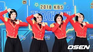 Celeb Five、「2018 KBS 歌謡大祝祭」レッドカーペット行事に出席。28日午後、ソウル・汝矣島KBS。。