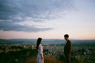 【g公式】女優パク・シネ、俳優ヒョンビン共演ドラマ「アルハンブラ宮殿の思い出」最終撮影の様子が公開。