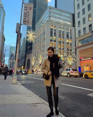 【g公式】少女時代_出身ジェシカ、ニューヨークでの写真を公開。