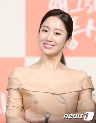 女優チョン・ヘビン、KBS新水木ドラマ「どうしたのプンサンさん」制作発表会に出席。
