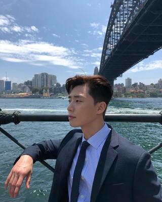 【G公式】俳優パク・ソジュン、SNS更新。