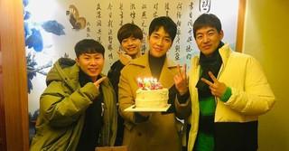 、、【G公式】俳優イ・スンギ、誕生日の記念写真を公開。●真のHappy birth day !!一緒にしてくれてありがとうございます��❤️