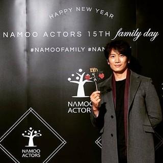 【G公式】俳優チソン、 Namooactors 15周年記念での写真を公開。