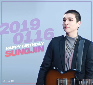 【d公式jyp】DAY6、ソンジンの誕生日を祝う。