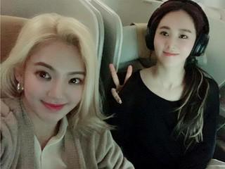 【r公式sm】少女時代 ヒョヨン&ユリ、SNS更新。チリに向けて出発!
