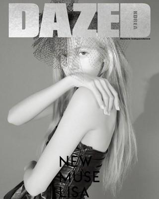 【g公式】BLACKPINK Lisa、 写真公開。「DAZED KOREA」2月号。