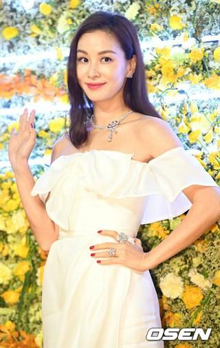 女優コ・ソヨン、ソウル市内で開かれた「Bvlgari(ブルガリ)Fioreverコレクション」ローンチイベントに出席。