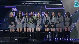 TWICE の「Dance The Night Away」、「8th GAONCHART MUSIC AWARDS」今年の歌手賞デジタル部門ベスト7月を受賞。。