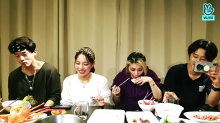 、、【w公式】 KARD  、「KARD MT we out here !!!!! 」VLIVE公開。