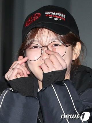 女優キム・ユジョン、JTBCドラマ「まず熱く掃除せよ」撮影終了パーティーに参加。31日午後、ソウル・汝矣島の飲食店。。