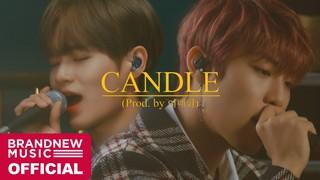 【w公式】BRANDNEWMUSIC、パク・ウジン &イ・デフィ 「Candle(Prod Byイ・デフィ)」LIVE CLIP 公開。