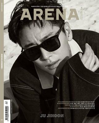 俳優チュ・ジフン、画報公開。ARENA HOMME+。
