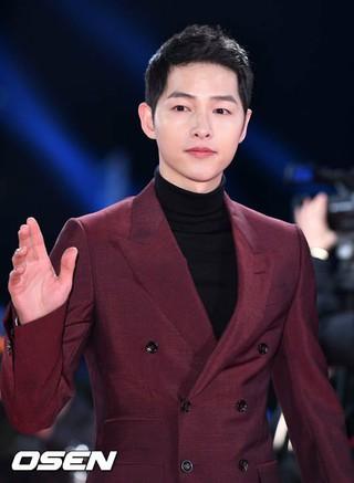 俳優ソン・ジュンギ、「第29回韓国プロデューサー大賞授賞式」のタレント部門出演者賞を授賞予定。 (1枚)