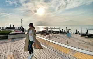 女優ソ・ユジン、SNS更新。日本で春の日を満喫。