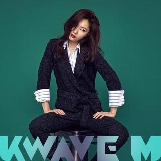 女優ソ・ジヘ、画報公開。雑誌Kwave M。