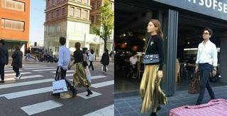 少女時代 スヨンと俳優チョン・ギョンホのデート現場。 (1枚)