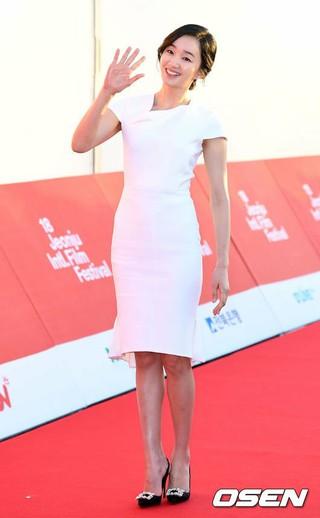 女優スエ、「第18回全州国際映画祭」開幕式に出席。@全羅北道全州市・全州ドーム。