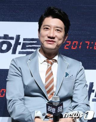 キム・ミョンミン、映画「一日」の制作発表会に出席。