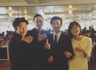 Secret 出身ソンファ、俳優チョ・スンウ、「熱愛説」の報道。韓国で「証拠」だと言われている写真。。2014年、ドラマ「神の贈り物-14日」で共演。