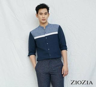 俳優キム・スヒョン、画報公開。ファッションブランドZIOZIA。追加分。 (2枚)