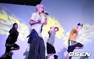 新人アイドルグループ「A.C.E」、ソウル市内でショーケースを開催。「ロールモデルは、H.O.T. 先輩です!」