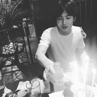 EXO SEHUN、SNS更新。「Happy birthday」 (2枚)