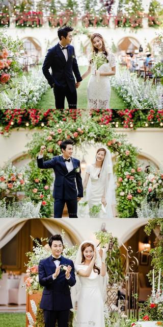 女優ユン・ソイ チョ・ソンユン、結婚式の写真公開。