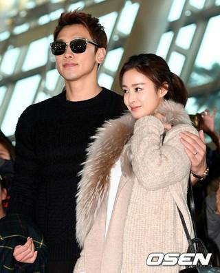 歌手Rain、パパになる。妻で女優キム・テヒ が妊娠15週目。 (1枚)