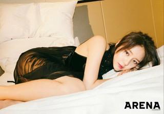 AOA ヘジョン、画報公開。メンズファッション誌「ARENA」より。 (2枚)