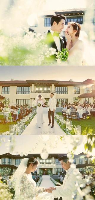 俳優チュ・サンウク - チャ・イェリョン夫妻、結婚式の写真公開。 (1枚)