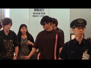 【動画】キム・ヒョンジュン (リダ)、除隊後の初来日。羽田到着の様子。