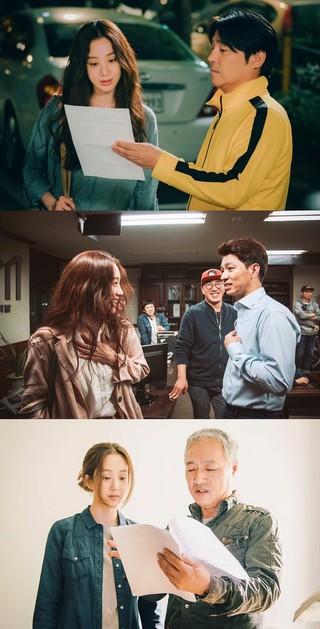 女優チョン・リョウォン、SNS更新。映画「ゲート」撮影現場写真。