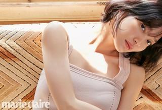女優シン・ミナ、画報公開。雑誌marie claire。