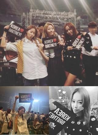 MELODYDAY、メンバー各自のSNSを更新。ブリトニー・スピアーズ韓国公演で大興奮!