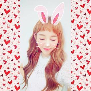 ペク・アヨン、SNS更新。キュートなウサギに変身!