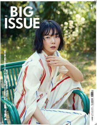 女優ペ・ドゥナ、画報公開。雑誌BIG ISSUE。